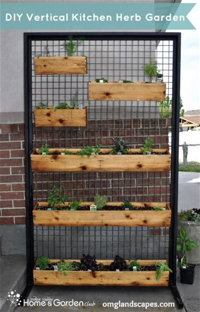 Vertical Herb Garden Apartment Studio 5 Vertical Patio Garden