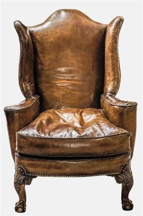 large leather armchair at 1stdibs