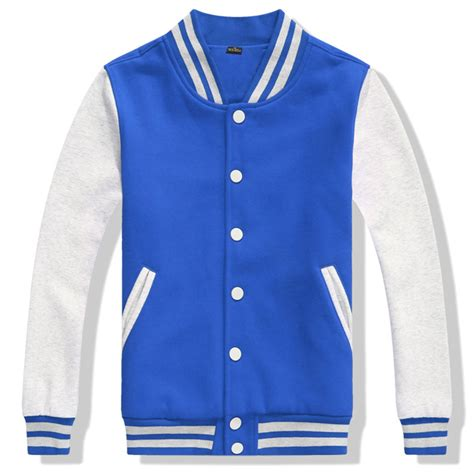 S College Letter Jackets S Varsity Jacket College Letterman Baseball Jacket Sweatshirt Top
