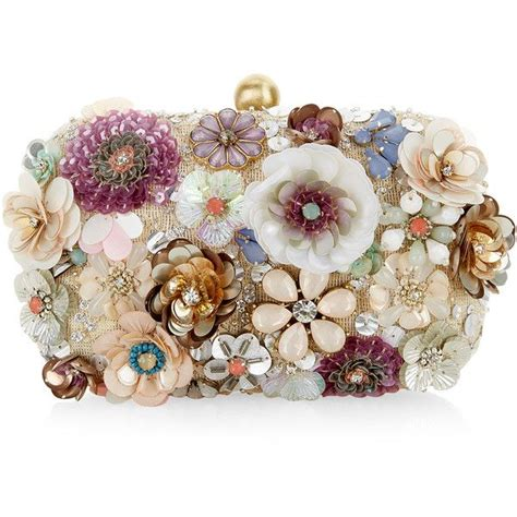 Dompet Pesta Flower Luxury Evening Clutches accessorize summer floral 3d hardcase clutch bag featuring