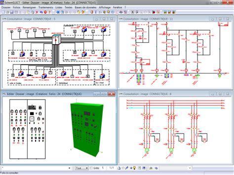 logiciel armoire electrique logiciels de schematique electrique tous les