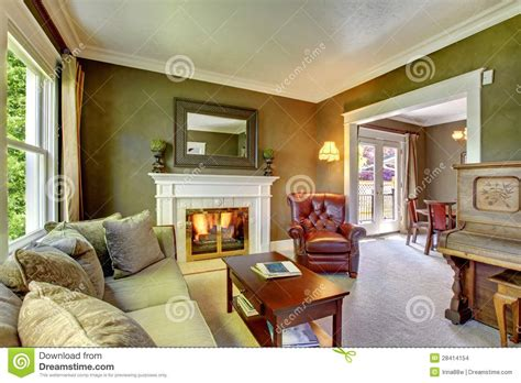 decorating in green classic fauxs finishes elegant classic green living room with fireplace and piano