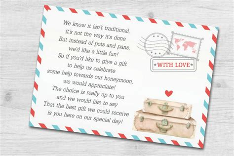 Wedding Invite Present Wording by Destination Wedding Invitation Wording Etiquette And