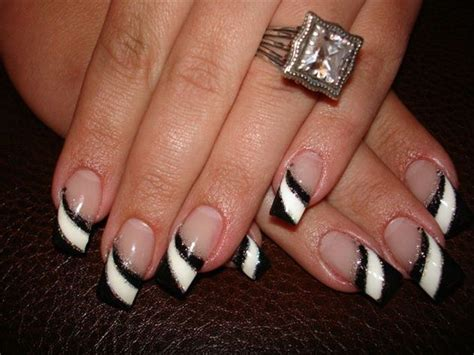 white and black pattern nails 60 latest black and white nail art design ideas