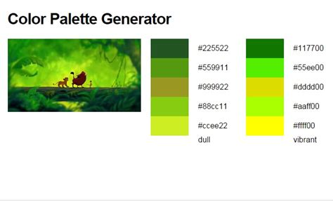 online color palette maker this online tool generates color palettes from images on