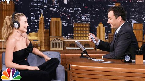 show challenges the whisper challenge with margot robbie