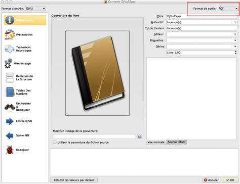 le format djvu comment convertir un fichier djvu en pdf