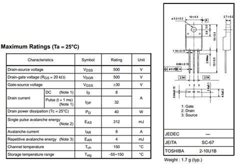 datasheet c828 transistor pdf k3561 datasheet k3561 pdf pinouts circuit toshiba