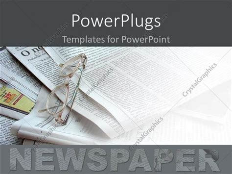 newspaper template for powerpoint powerpoint template newspapers in the background white