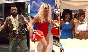 matt lauer dresses as pamela anderson as today show celebrates matt lauer dresses as pamela anderson as today show