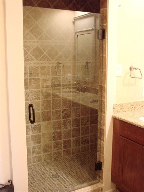 Bronze Shower Door Frameless Door With Rubbed Bronze Finish Frameless Shower Enclosures
