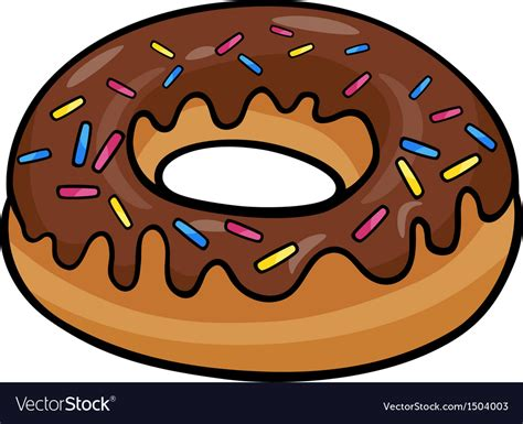 royalty free clipart images donut clip royalty free vector image