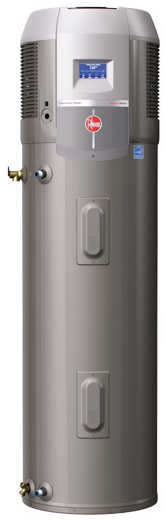 Update Water Heater rheem s hybrid heat water heater get s an update