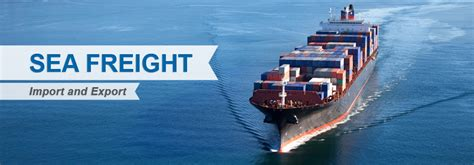 sea freight  logistics fzco