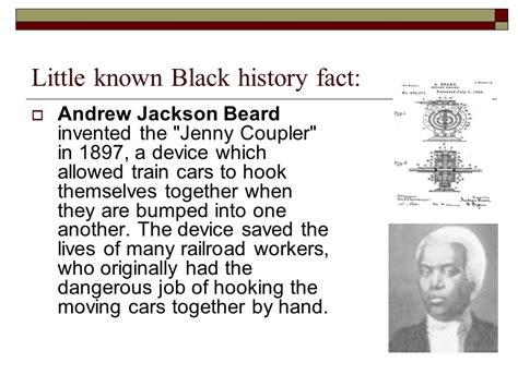 biography black history facts little known black history fact ppt video online download