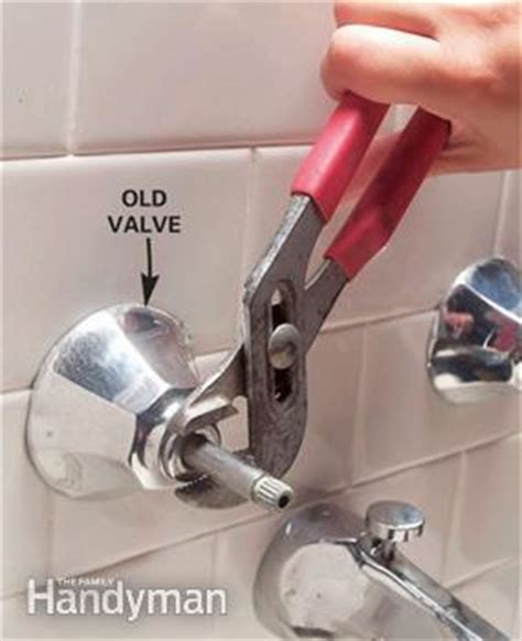 to convert tub faucet to shower two faucet the decoras how to replace a two handle shower valve with a single