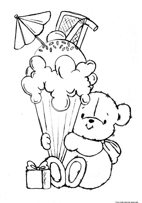 coloring in pages printable printable ice cream coloring pages az coloring pages