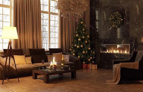 decorate xmas tree modern apartment modern decor interior design ideas