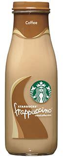 Caffeine in Starbucks Bottled Frappuccino