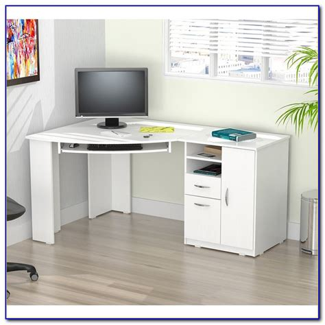 white corner desk with drawers corner computer desk with drawers desk home design