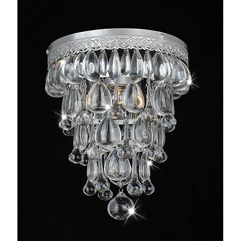 Overstock Chandelier Copy Cat Chic Pottery Barn Clarissa Glass Drop Flushmount
