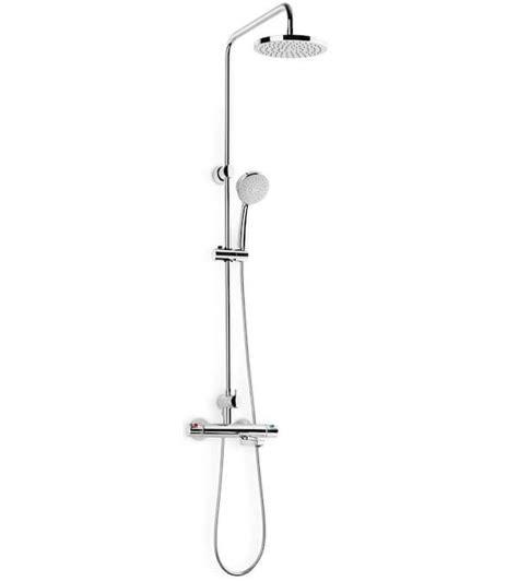 Roca Shower Bath roca victoria t thermostatic bath shower column
