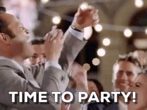 minions time  party party gif  gifer  malodi