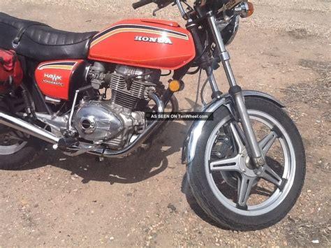 1978 honda hawk 400 1978 honda cb400a hawk hondamatic