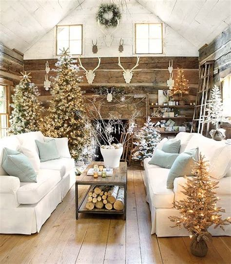 clean cozy neutral winter decorating ideas the happy housie rustic natural neutral christmas style series the