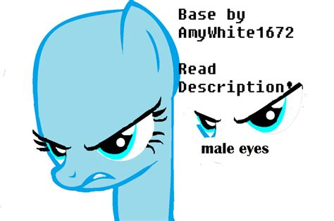 Dm016 Base 1 White mlp base 1 shut the buck up by amywhite1672 on deviantart