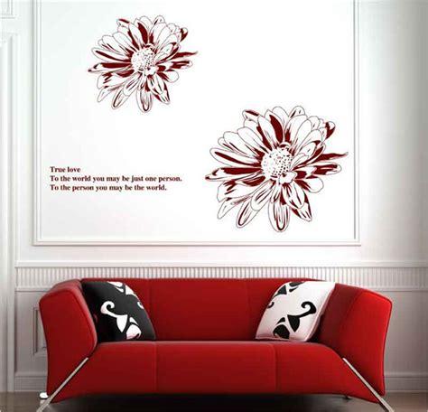 Wallsticker Flower Xy8039 sunflower flower wall sticker floral wall decal vinyl stickers wallpaper poster mural