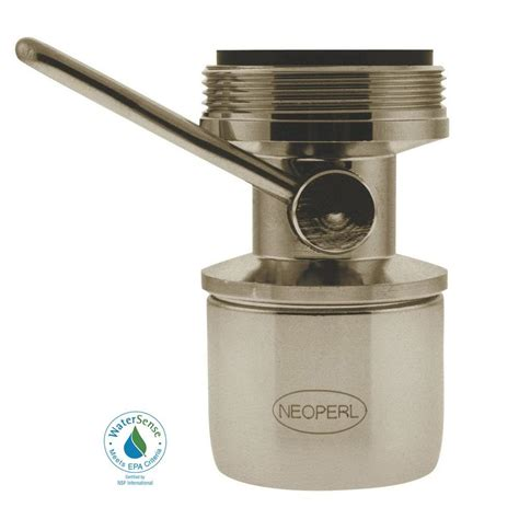 neoperl 1 5 gpm dual thread on water saving faucet