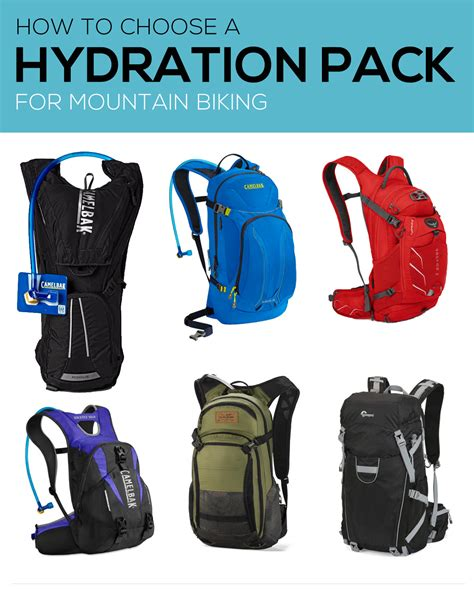 choosing a hydration pack how to choose a hydration pack for mountain biking