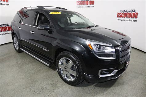 gmc preowned pre owned 2013 gmc acadia denali sport utility in