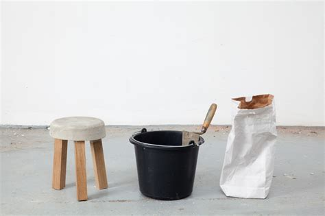 Concrete Stool Diy by Concrete Stools Made Using Leftover Offcuts By Klemens