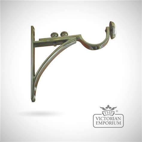 Adjustable End Bracket Curtain Pole Brackets