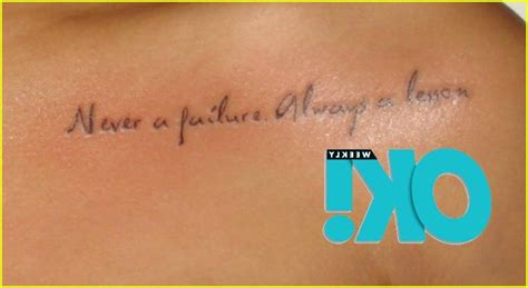 rihanna sternum tattoo rihanna s new chest never a failure always a