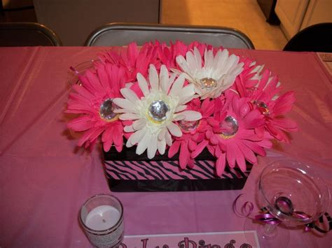 Zebra Print And Pink Wedding Ideas Kreations By Kristen Zebra Centerpiece Ideas