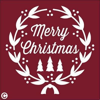 printable xmas window stencils merry christmas stencils printable christmas 2017