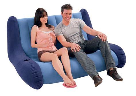 divanetto gonfiabile letti e materassi gonfiabili intex
