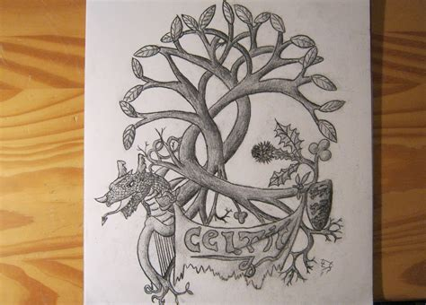 welsh celtic tattoo designs celtic design pencil speed drawing