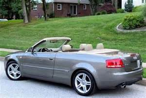 sell used 2007 audi a4 quattro cabriolet convertible 2