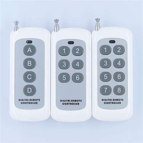 remote control l switch small size long range remote control 4 button 6 button 8