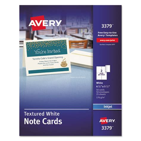 avery 8317 note cards template bettymills avery 174 textured note cards with envelopes