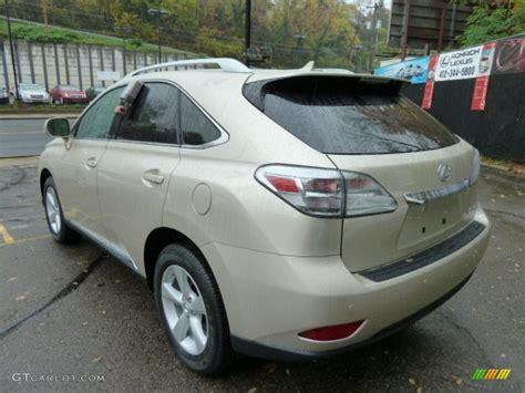 lexus satin cashmere satin cashmere metallic 2012 lexus rx 350 awd exterior