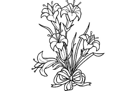 coloring pictures of easter lilies coloring pages images archives free coloring page