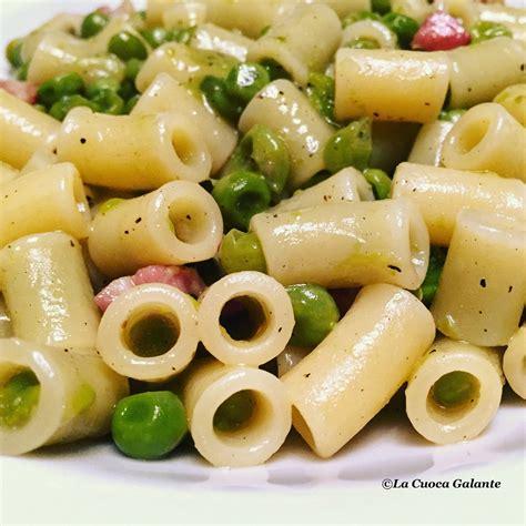 come si cucina pasta e piselli pasta e piselli la cuoca galante cucina napoletana