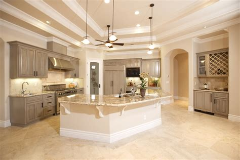 Kitchen With Light Wood Cabinets by Ivory Travertine Kitchen White Mosaic