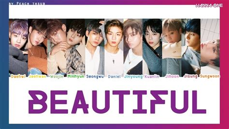 Download Mp3 Wanna One Beautiful | ดาวน โหลดเพลง color coded thaisub wanna one beautiful