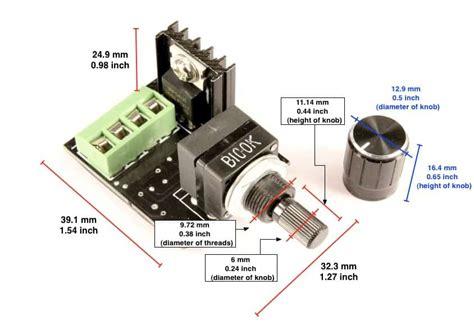 led len 12v dimmen led dimmer knob panel mount oznium